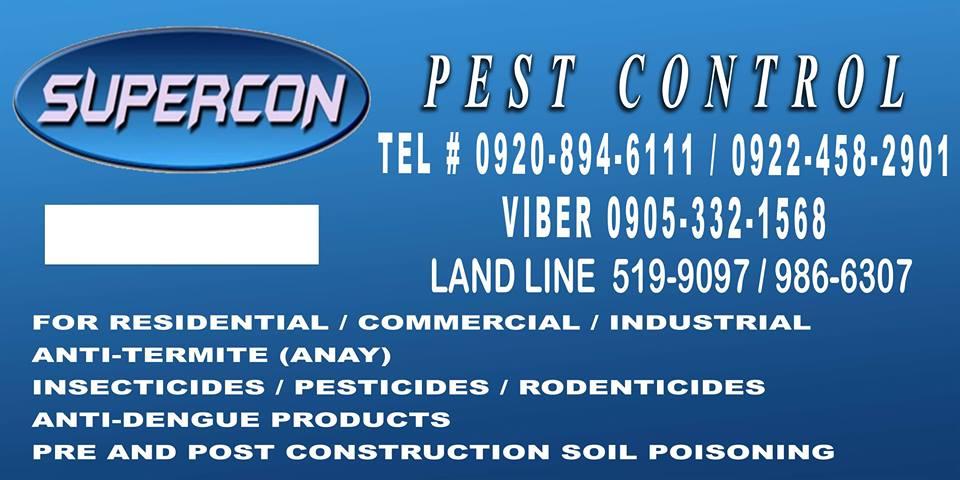68 SUPERCON Pest and Termite Control Services