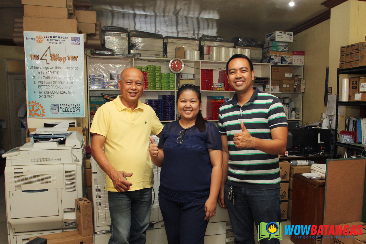 Efren Reyes Telecopy and Trading Services