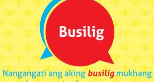 Diksyunaryong Batangueño Ep 5: Busilig
