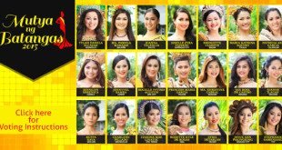Mutya ng Batangas 2015 – Voting Instructions for WOWBatangas People's Choice Award