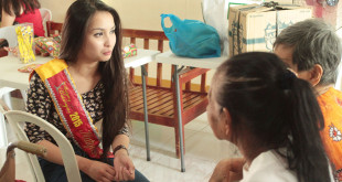 Siselle Fajardo Visits Sagip-Buhay Tahanan Foundation Inc. in Bauan