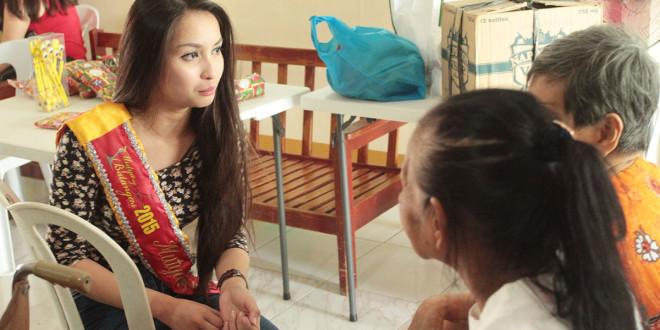 Mutya ng Batangas 2015 Siselle Fajardo visits Sagip Tahanan Foundation (15)