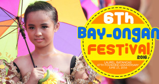 6th Bay-Ongan Festival Schedule of Activities