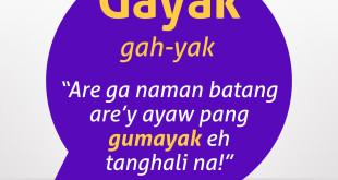 Diksyunaryong Batangueño Ep 16 – Gayak
