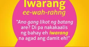 Diksyunaryong Batangueño Ep 19 – Iwarang