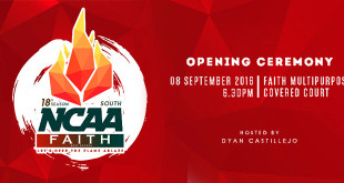 FAITH hosts NCAA South Season 18