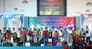 2016 Advent Parade and People's Lantern Exhibition sa FAITH