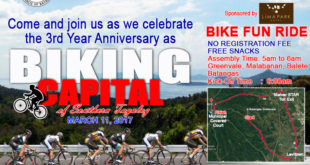 Balete : The Biking Capital of Southern Tagalog | Bike Fun Ride – Schedule of Activities