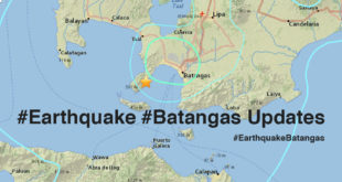 #Earthquake #Batangas Updates